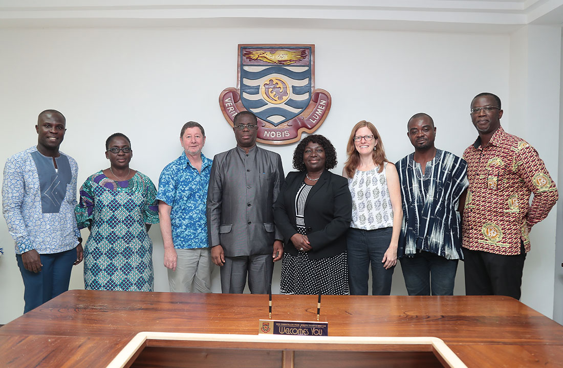 Officials from University of Rhode Island visits UCC