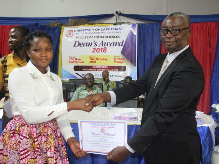 faculty of social sciences holds dean's award presentation