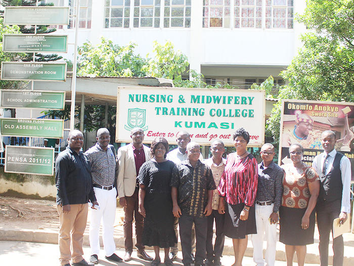 AFFILIATION TEAM INSPECTS FACILITIES FOR POST NAC/NAP ACCESS COURSE H